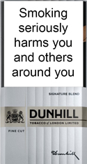 Dunhill Fine Cut Signature Blend Cigarettes