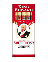 King Edward Wood Tip Cigars Cherry Cigarettes