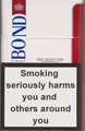 Bond Street Smart Red 8 Cigarettes