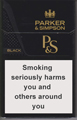 Parker & Simpson Black Cigarettes