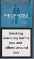 Philip Morris Novel Silver Cigarettes