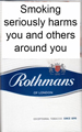 Rothmans King Size Blue Cigarettes
