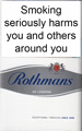 Rothmans King Size Silver Cigarettes
