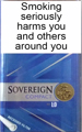 Sovereign Compact Silver Cigarettes
