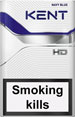 Kent HD Navy Blue 8 Cigarettes