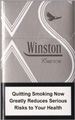 Winston XSence White (mini) Cigarettes